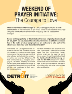 Weekend of Prayer - Detroit 67